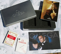 Rarest Set Omega Casino Royale 007 Box Booklets Postcard And Game Cards