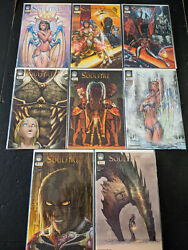 Soulfire 2004 0, 1-7 Nm Lot Michael Turner Sexy Covers Cbxc