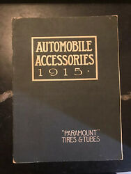 Paramount Tires And Tubes Automobile Accessories - 1915
