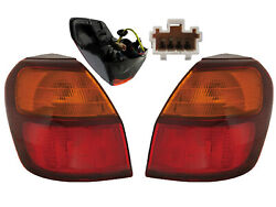 For Taillight Lamp 2000 2001 2002 2003 2004 Outback Wagon Pair Left Right Side