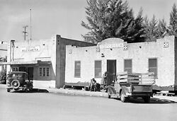 1939 Post Office & City Hall Belle Glade FL Vintage Old Photo 13