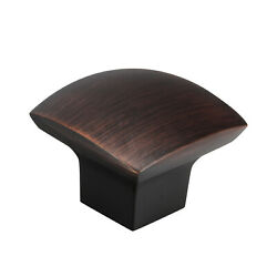 Zen Dynasty Style Brushed Oil-rubbed Bronze Cabinet Hardware Knob1-7/32 31mm