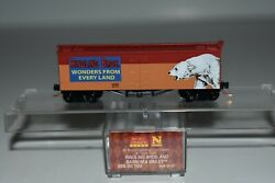 N Scale Mtl 05800100 Ringling Bros And Barnum And Bailey 36' Ice Reefer 20151 C15664