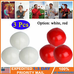 3 Pcs Clown Juggling Balls Set Pu Soft Toys Gifts For Beginner And Professionals