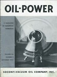 Magazine - Oil-power - Socony-vacuum - Aircraft Propellers Safes -09/37 St47