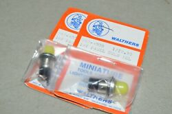 Ho Scale Parts Walthers 18v Panel Bulb Yellow 2 Packs