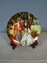 Gone With The Wind Home To Tara Collectible Plate Bradford Exchange