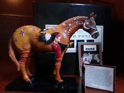 Trail Of The Painted Ponies- Ghost Horse- Very Rare Pre Numbered Pre Edition...