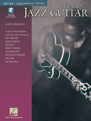 Best Of Jazz Guitar Signature Licks Learn To Play Tab Wolf Marshall Book Audio