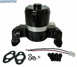 Small Block Chevy Electric Water Pump 283-327-400 Sbc High Volume Flow Black