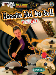 Messinand039 Wid Da Bull Learn Drum Lessons Jeff Salem Play-along Book Cd Pack