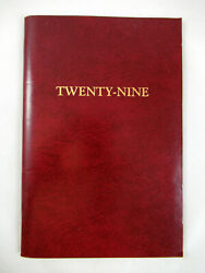 Rules For 29 Twenty-nine The Card Game Played In Nepal Nice Binding Funny