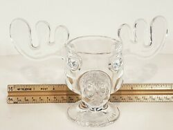 Werner Brothers Bullwinkle Glass Cup 8 Across