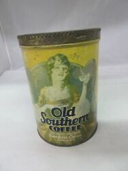 Vintage Advertising Old Southern Coffee Tin A-3