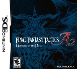 Nds-final Fantasy Tactics A2 Grimoire Of The Rift /nds Game New