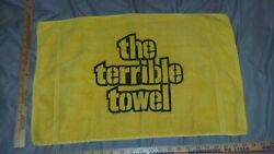 The Terrible Towel Gold 1970's