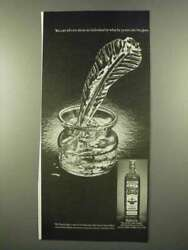 1975 Old Bushmills Irish Whiskey Ad - He Pours