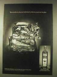 1976 Old Bushmills Irish Whiskey Ad - What He Pours