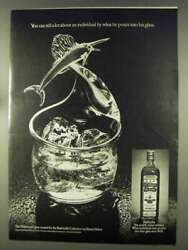 1977 Old Bushmills Whiskey Advertisement - Pours Into His Glass
