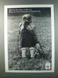 1981 Easter Seals Ad - Take The First Step So She Can