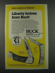 1986 Buck Knives Model 500l And Model 826 Ad - Own A Piece Of History
