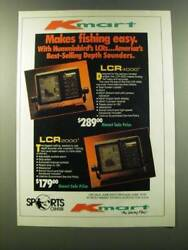 1986 Kmart Humminbird Lcr 4000 And Lcr 2000 Depth Sounders Ad