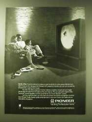 1989 pioneer 50quot; Projection Monitor TV Ad Family Affair