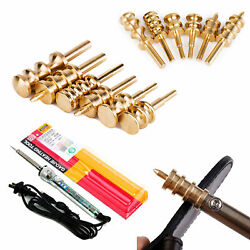 Leather Edge Power Burnisher Slicker Soldering Iron Parts For Drill Press Tools