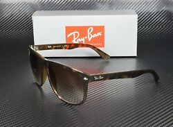 RAY BAN RB4147 710 51 Light Havana Brown Gradient 60 mm Men#x27;s Sunglasses $101.88