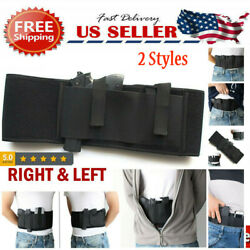 Tactical Belly Band Holster Concealed Carry Hidden Gun Right Left Hand Draw Belt $11.99