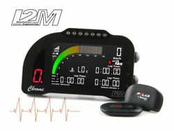 Kit Display Data Logger Gps I2m Chrome Pro2 Ducati Panigale 899 / 1199 / 1299
