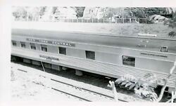 7a702 Rp 1940s/60s Nyc New York Central Railroad Pullman Car Valley Speedshot