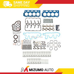 Full Gasket Set 0.047 Thick Head Bolts Fit 04-10 Chevrolet Gm 6.6l Duramax