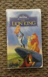 Walt Disneyand039s The Lion King Vhs Masterpiece Collection Like New