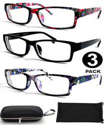 Nearsighted Shortsighted Distance Myopia Glasses for Women Flower Hard Case $14.99