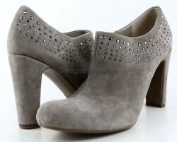 $120 ENZO ANGIOLINI KAISER Taupe Suede Designer Fashion Ankle Boots 8 $29.99