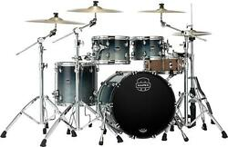 Mapex Saturn 4-piece Fusion Shell Pack - Teal Blue Fade