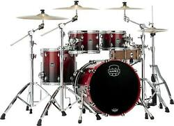 Mapex Saturn 4-piece Fusion Shell Pack - Scarlet Fade