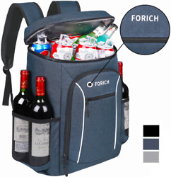 FORICH Cooler Backpack Portable Soft Backpack Coolers Insulated Leak Proof Large $45.99