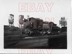 8j200r Rp 1947 Crr Of Nj Central Railroad New Jersey 0-6-0 Loco 93 Camelback