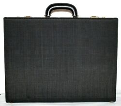 ❤️comtesse W. Germany Horse-hair Leather Briefcase Vintage 17.75x13.5 New L@@k