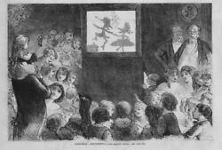 Punch And Judy Shadow Puppet Show Christmas Amusements The Shadow Dance Children