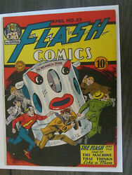 FLASH Comics No. 52 First Comic with a Computer in it