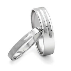 Beautiful Valentine Gift 950 Platinum Gold Couple Band All Size Available