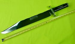 Vintage 1970's Joseph Rodgers And Sons Sheffield English British Huge Bowie Knife