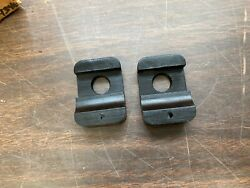 1942-1948 Ford Mercury Station Wagon Tailgate Rubber Bumpers Pair Nos Fomoco 820
