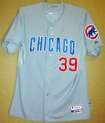 2012 Chicago Cubs 39 Dave Mckay Road Button-down Size 48 Mlb Majestic Jersey