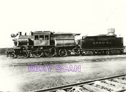 7ee080 Rp 1910s/1980s Crr Of Nj Central Railroad New Jersey Camelback Loco 801