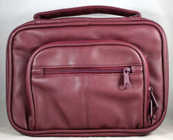 Bible Cover Deluxe Organizer Kit Burgundy Large New Fits Bibles 6 X 9 X 1.5