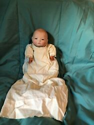 Beautiful Antique Bye Lo Baby Doll With Desirable Brown Eyes That Open And Close